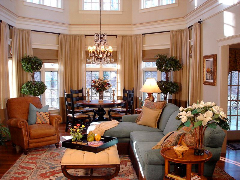 Classical Living Space