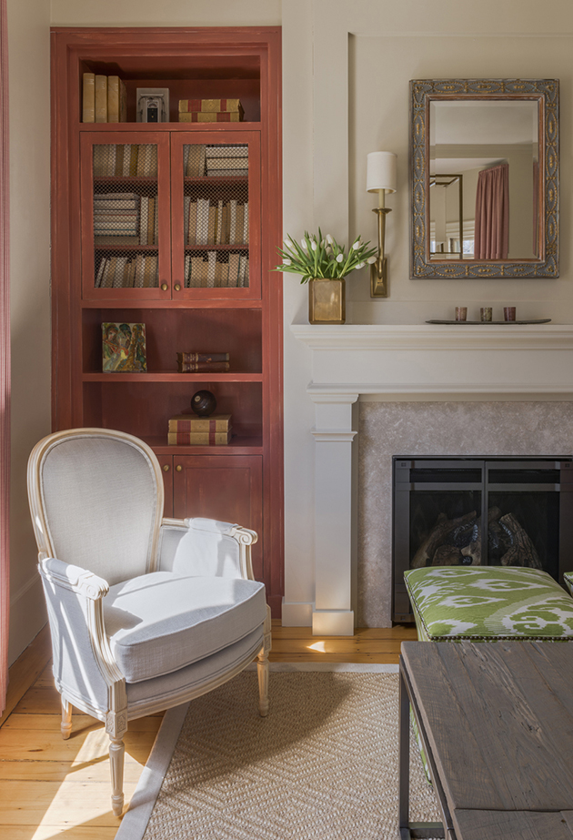 reading Corner with Built In